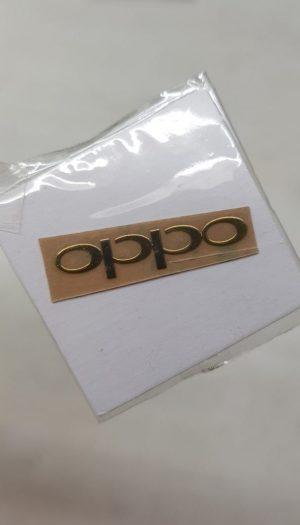 Oppo metallic logo Glossy Shine